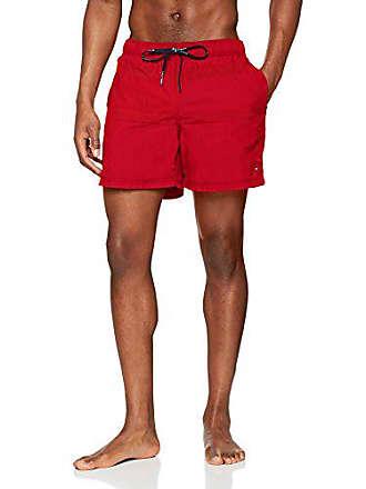 cfe9c31ceffd Tommy Hilfiger Medium Drawstring, Costume da Bagno Uomo, Rosso (Tango Red  611)