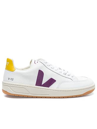 Vert TÊNIS FEMININO V12 B-MESH BERRY GOLD YELLOW - OFF WHITE