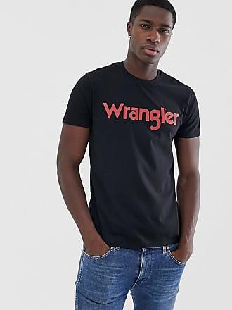 Wrangler T-shirt con logo-Nero