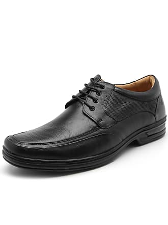 Rafarillo Sapato Couro Rafarillo Liso Preto