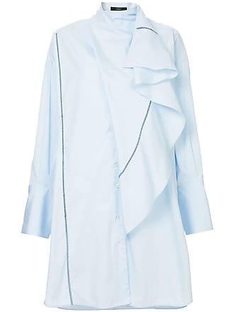 Ellery Chemise mangas longas - Azul