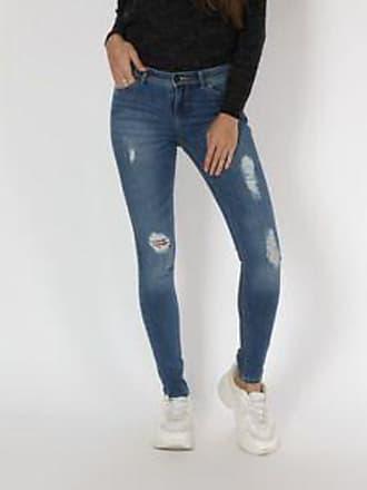 Springfield Jeans con Deslavado en Tejido<br>Skinny Fit<br>Azul