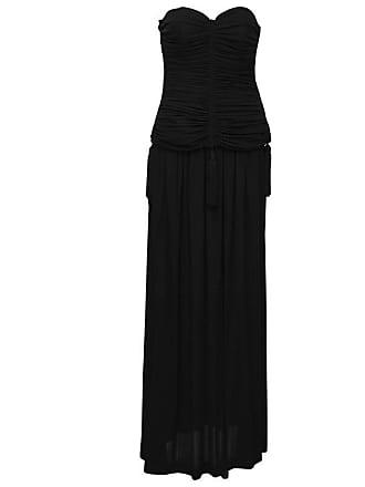 8c14ee21ad Saint Laurent 1980s Yves Saint Laurent Ysl Black Jersey 2 Pc Gown With  Tassels