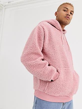 hoodie duveteux homme