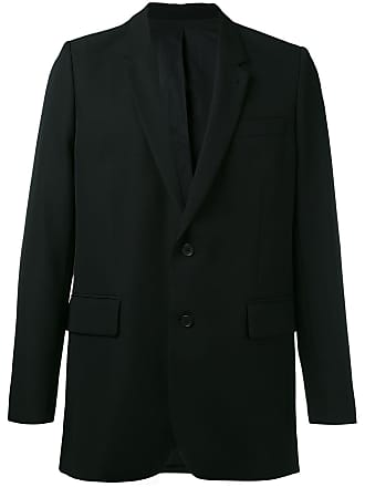 Ami Lined Two Button Jacket - Black