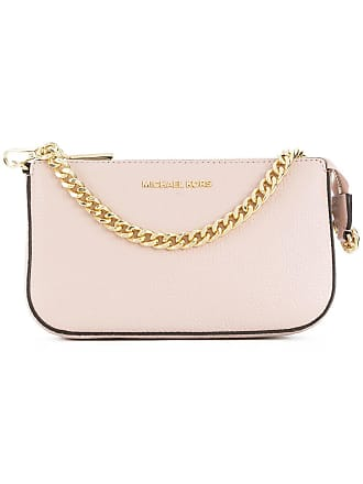 Michael Michael Kors chain detail clutch - Pink