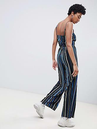 dd422ca3e1 Noisy May stripe wide leg cami jumpsuit - Multi