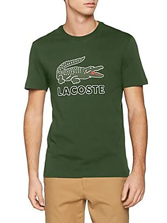 6f79dfc699bcd Lacoste TH6386 T- T-Shirt, Vert 132, Small (Taille Fabricant:
