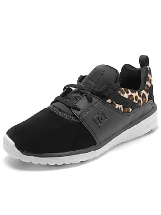 DC Tênis Couro DC Shoes Heathrow Se Imp (Can) Preto