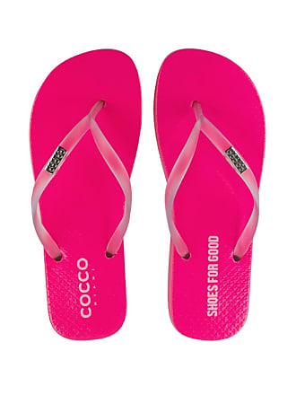 Cocco Miami Chinelo Do Bem Neon Rosa