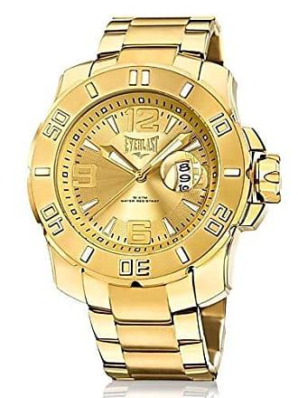 Everlast Relógio Everlast Masculino Ref: E656 Big Case Dourado