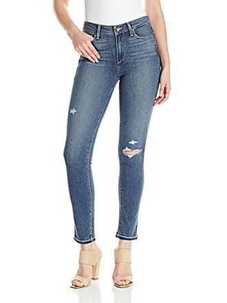 Paige Womens Hoxton Ankle Peg Jeans, Lexi Destructed, 30