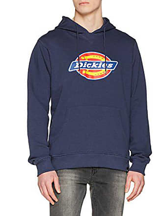 Dickies Nevada, Sweat à Capuche Homme, Bleu (Navy Blue), Small ( 3ee32569ce84