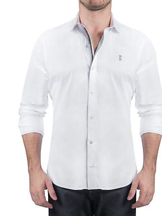 Sergio K. Camisa Strecht Gorgurão Branco