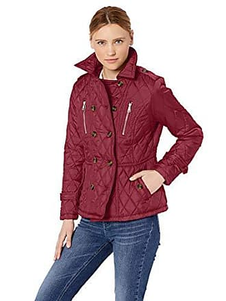 Urban Republic Womens Barn Jacket, Pomegranate, M