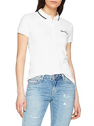 7aed400e Tommy Hilfiger Womens New Chiara Heritage Pique Short Sleeve Polo T-Shirt, Classic  White