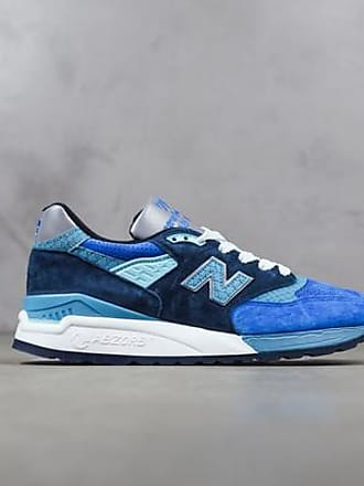 New Balance Blau und Silber 998 Made In Usa Schuhe - 44.5 / AZUL / MEN
