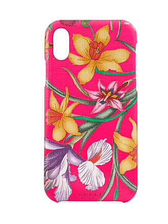 Gucci Cover per iPhone X XS con stampa Flora 207bc19d7b05