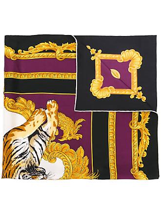 Versace Tiger print foulard - Multicolour