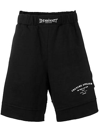 Ih Nom Uh Nit Shorts esportivo com logo - Preto