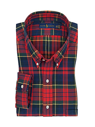 Polo Ralph Lauren Übergröße   Polo Ralph Lauren, Freizeithemd mit  Karo-Muster in Rot 53e307bfa9