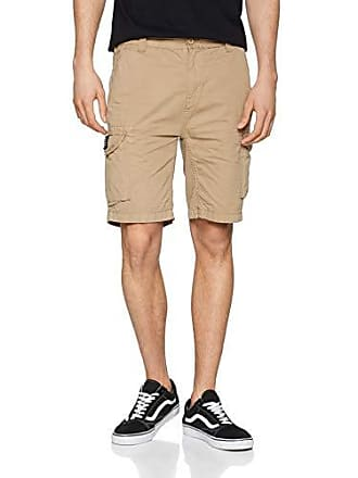 1532b039b2a09d Schott NYC TROLIMPO30 - Short - Homme - Beige (Army Mastic) - Taille: