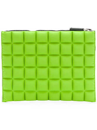 No Ka'Oi chocolate bar quilted purse - Green