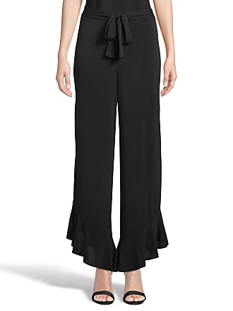 5twelve Ruffle-Hem Wide-Leg Flowy Pants