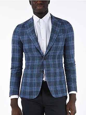 Corneliani CC COLLECTION giacca a 2 bottoni REWARD windowpane check hop taglia 50