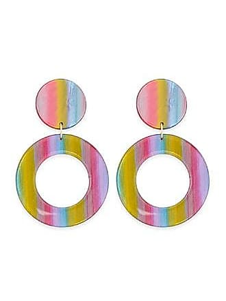 Forever 21 Forever 21 Rainbow Drop Earrings Pink/multi