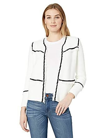 Nic+Zoe Womens First Class Jacket, Paper White, Small