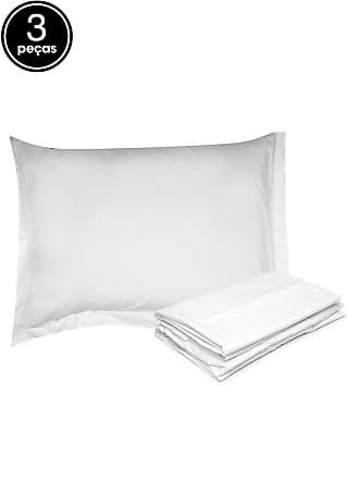 Buddemeyer Jogo de Cama Solteiro 3Pçs Buddemeyer Basic Premium Branco