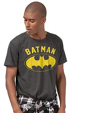 DC Comics Camiseta Batman Logo Yellow