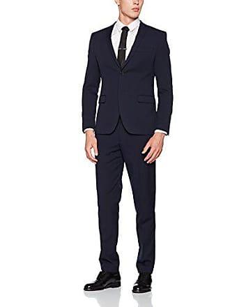 s.Oliver 23707848302, Veste de Costume Homme, Blau (Black Blue 5990) 4d4230d26b2e