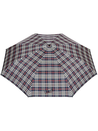 Burberry Classic check folding umbrella - Blue
