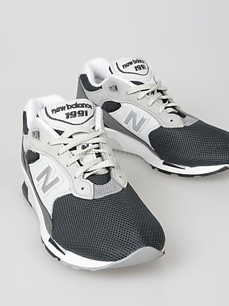 New Balance Fabric and Leather Classic Sneakers size 46,5