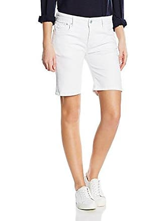 Pepe Jeans London Damen Shorts POPPY Weiß (denim) W32 (Herstellergröße  ... 02867ff971
