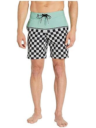abc43e3dda Vans Newland Boardshorts 18 (Mist Green/Checkerboard) Mens Swimwear
