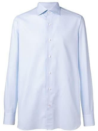 Isaia plain formal shirt - Blue