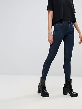 Dr. Denim Lexy mid rise second skin super skinny jeans - Blue
