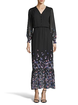 5twelve Floral Smocked Flounce-Hem Maxi Dress