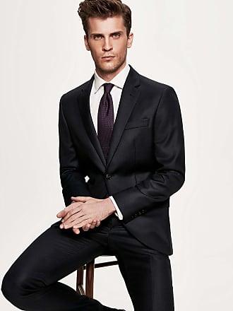 Hackett Mens Mayfair Slim Fit Birdseye Suit | Size 38Regular | Navy