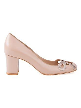 Sarah Chofakian Sapato de couro - Neutro