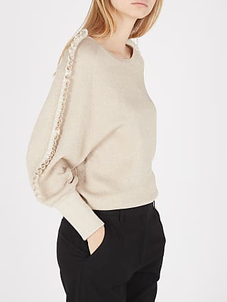 Only Onlnatalia L//S Ruffle Pullover CC KNT Pull Femme