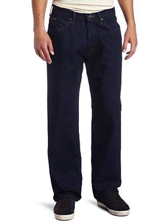 41ee4887 Lee Lee Mens Relaxed Fit Straight Leg Jean, Pepper Prewash, 40W x 34L