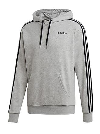 hot sale online 060e4 ad981 adidas FELPA CON CAPPUCCIO 3 STRIPES CORE