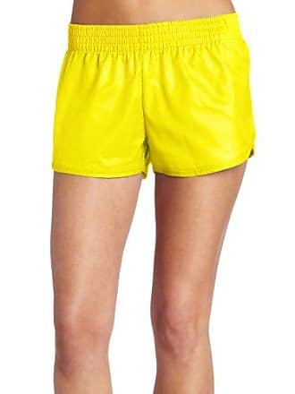 Soffe Womens Lowrise Slick, Neon Yellow, Large