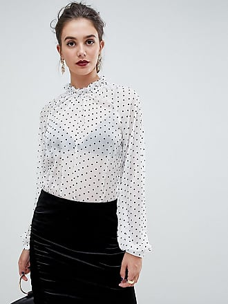 Y.A.S. Tall dot sheer blouse-Multi