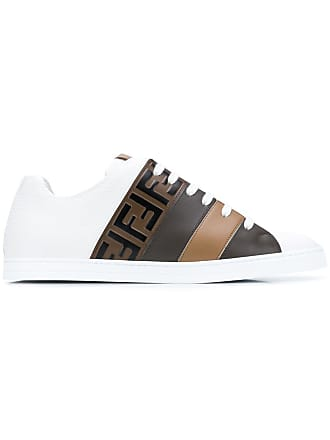 4e3332ff99 Fendi FF motif sneakers - White. Fendi. FF motif sneakers - White. USD   690.00. Delivery  free. Fendi Leather and ...