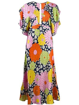 Dodo Bar Or Vestido com estampa floral - Rosa